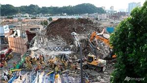 9 người thiệt mạng do sập nhà cao tầng tại Hàn Quốc