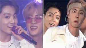 Loạt khoảnh khắc 'hỗn loạn' của bộ đôi Jin và Jungkook BTS trên 'Sowoozoo'