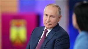 Tổng thống Nga Vladimir Putin: Sự cố tàu khu trục Defender của Anh là 'hành động khiêu khích'