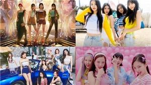 Aespa 'vượt mặt' Blackpink, Twice trong BXH nhóm nữ tháng 7
