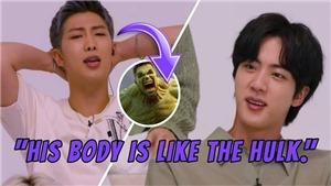 Jin BTS khuyên HYBE đóng cửa phòng tập vì… cơ bắp của RM