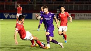 Kết quả bóng đá Sài Gòn 2-1 Hà Tĩnh: Căng thẳng đến phút cuối