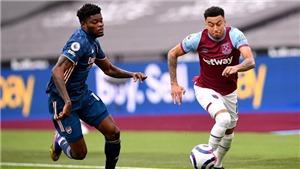 Trực tiếp bóng đá Anh: West Ham vs Arsenal (22h00 hôm nay)
