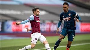 Trực tiếp K+, K+PM: West Ham vs Arsenal (22h00, 21/3). Trực tiếp bóng đá Anh hôm nay