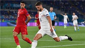 Trực tiếp bóng đá VTV3, VTV6: Thổ Nhĩ Kỳ đấu với Ý, EURO 2020-2021 bảng A