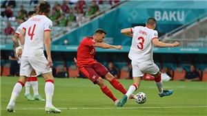 Video clip bàn thắng trận Thụy Sỹ vs Thổ Nhĩ Kỳ. Kết quả bóng đá EURO 2021