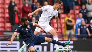 Scotland 0-2 CH Séc: Schick lập siêu phẩm giúp CH Séc dẫn đầu bảng D