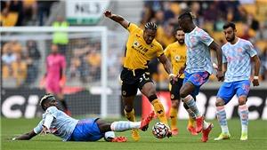 Kết quả bóng đá Wolves 0-1 MU: Chiến thắng may mắn