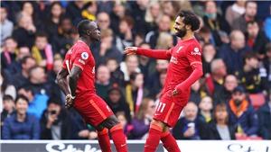 KẾT QUẢ bóng đá Watford 0-5 Liverpool, Ngoại hạng Anh hôm nay