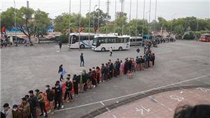 Sân Việt Trì sốt vé trận tuyển Việt Nam đấu U22