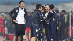 Bầu Hiển phấn khởi vì Hà Nội FC vượt qua Sài Gòn FC