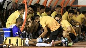 CLB Hà Nội tiếp tục mất tiền đạo tiền tỷ vì chấn thương