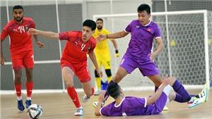 Tuyển futsal Việt Nam đá giao hữu thua Maroc