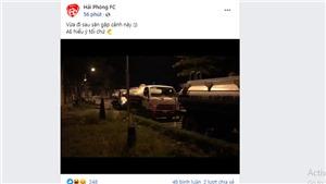 CLB Hải Phòng bơm nước sân Lạch Tray để đối phó Hà Nội FC?