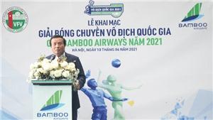 Khai mạc giải bóng chuyền VĐQG Cúp Bamboo Airways năm 2021
