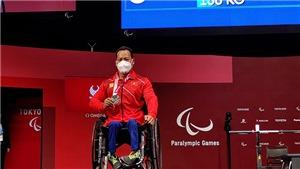 Lê Văn Công nói gì sau khi giành HCB Paralympic 2020?