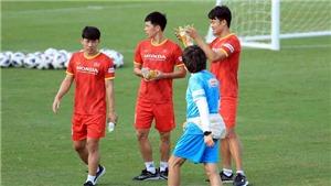 Minh Vương trở lại tập luyện, báo tin vui cho HLV Park