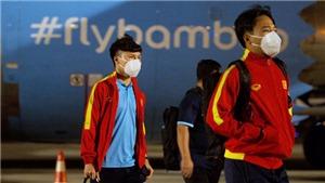 Tuyển Việt Nam được chuyên cơ Bamboo Airways đón thẳng về nước
