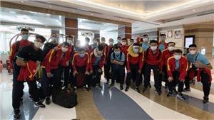 Tuyển futsal Việt Nam đã tới UAE, sẵn sàng cho mục tiêu World Cup