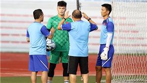 Thầy Park cẩn trọng với thủ môn Bùi Tiến Dũng