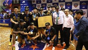 VBA 2018 Finals: Cantho Catfish lần đầu tiên vô địch