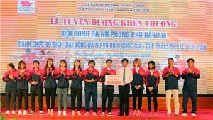 Phong Phú Hà Nam được thưởng gần 1,4 tỷ đồng nhờ VĐQG