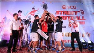 Kim Thành Phát vô địch SCG Street Football 2018
