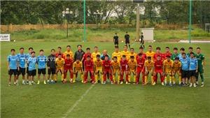 U22 Việt Nam gây sốc vì thể lực kém