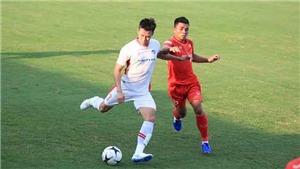 U22 Việt Nam để tuột chiến thắng trước Viettel