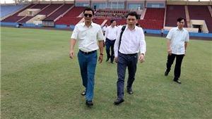 VFF khảo sát sân Việt Trì, chuẩn bị cho trận U23 Việt Nam-U23 Myanmar