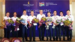 Đội tuyển golf Việt Nam lần thứ 2 vô địch giải WAGC thế giới