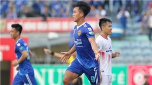 Hà Minh Tuấn lập hattrick, Quảng Nam giải cơn khát thắng