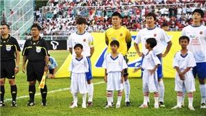 HLV Park Hang Seo xem giải U19 Suwon JS Cup 2018 cùng danh thủ Park Ji Sung