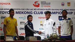 Toyota Mekong Cup 2017: S.Khánh Hòa gây bất ngờ cho đối thủ