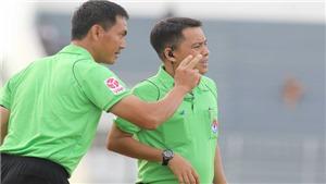 HLV Lê Huỳnh Đức chê trọng tài thích thể hiện