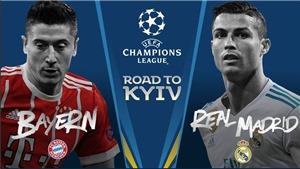 Trực tiếp lượt đi bán kết Champions League Bayern Munich vs Real Madrid ở đâu?