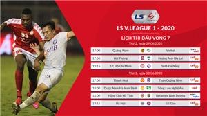 Kết quả bóng đá. Kết quả V.League vòng 7. Kết quả bóng đá Việt Nam