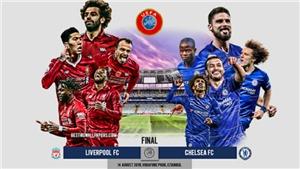 TRỰC TIẾP BÓNG ĐÁ: Liverpool vs Chelsea (2h00 ngày 15/8), Siêu cúp châu Âu 2019