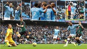 Man City 3-0 Aston Villa: Giành 3 điểm, City lấy lại vị trí thứ 2, gây áp lực lên Liverpool
