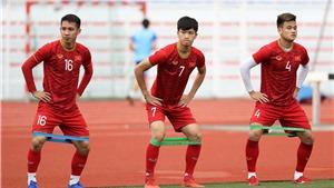 CẬP NHẬT U22 Việt Nam vs U22 Lào, bóng đá SEA Games 30