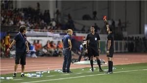 """Ông Park xin lỗi vì chiếc thẻ đỏ: """"Lúc đó, tôi thấy chiến thắng mới quan trọng hơn"""""""