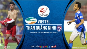 Link xem trực tiếp bóng đá Viettel vs Quảng Ninh. Trực tiếp V-League 2020