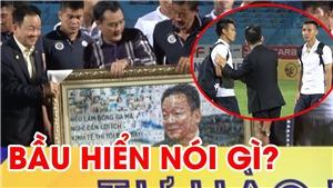 Hành động lạ của bầu Hiển trong ngày Hà Nội bị SLNA 'phá hỏng' tiệc sinh nhật