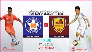 Link xem trực tiếp bóng đá Đà Nẵng vs Quảng Nam. Trực tiếp V-League 2020