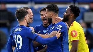 Kết quả bóng đá Anh vòng 36: Giroud giúp Chelsea giữ vững vị trí thứ 3