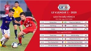 Lịch thi đấu V-League 2020. Lịch thi đấu bóng đá Việt Nam vòng 8: Viettel vs Hà Nội