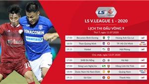 Lịch thi đấu bóng đá V League 2020 vòng 9: Bình Dương vs HAGL, Than Quảng Ninh vs TPHCM