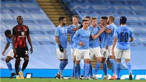 Bảng xếp hạng Ngoại hạng Anh: Man City tiếp tục khẳng định sức mạnh