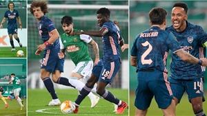 Video clip trận Rapid Wien 1-2 Arsenal