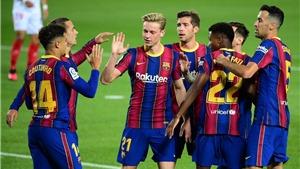 Bảng xếp hạng Bóng đá Tây Ban Nha vòng 33: Barca sắp soán ngôi Atletico Madrid
